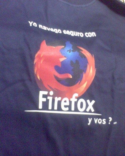 Playera Firefox