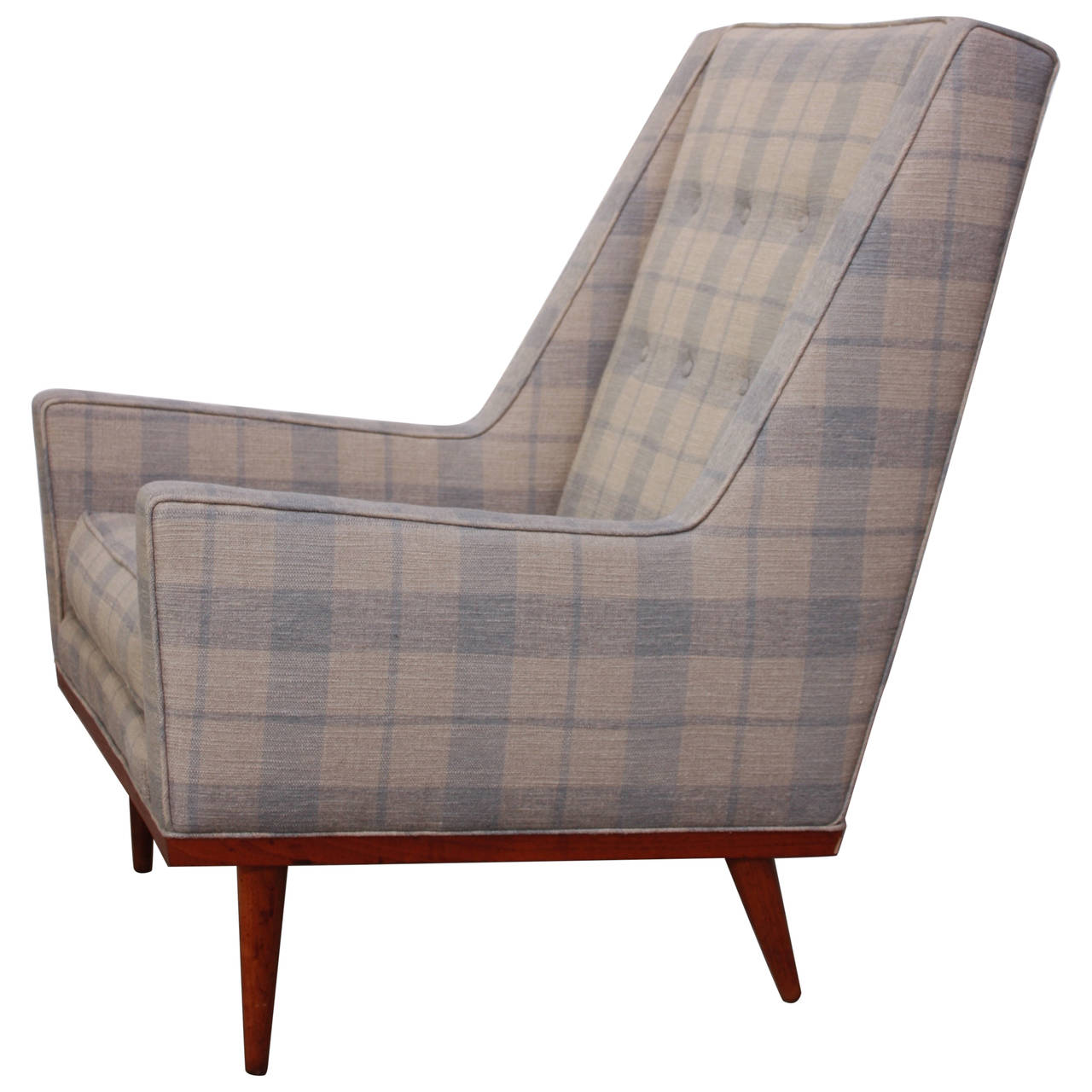 King Chairs Milo Baughman For James Inc King Chair Jarontiques