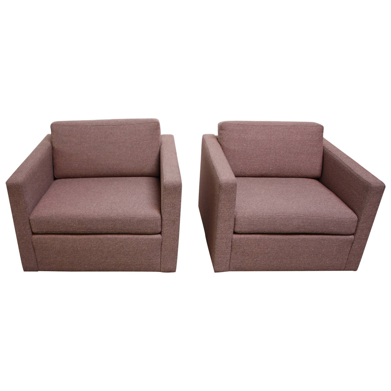 Cube Chairs Pair Of Jack Cartwright Cube Chairs Jarontiques