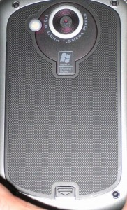 Rear view of I-mate JasJar/HTC Universal