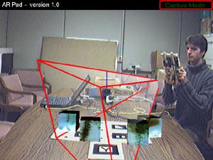 Screenshot from AR Pad Unit