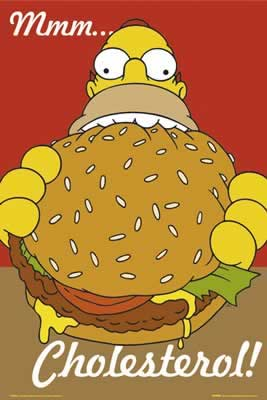 home simpson cholesterol