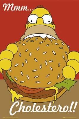 home simpson cholesterol
