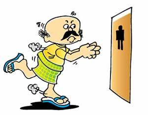 Enlarged Prostate Symptoms Cartoon