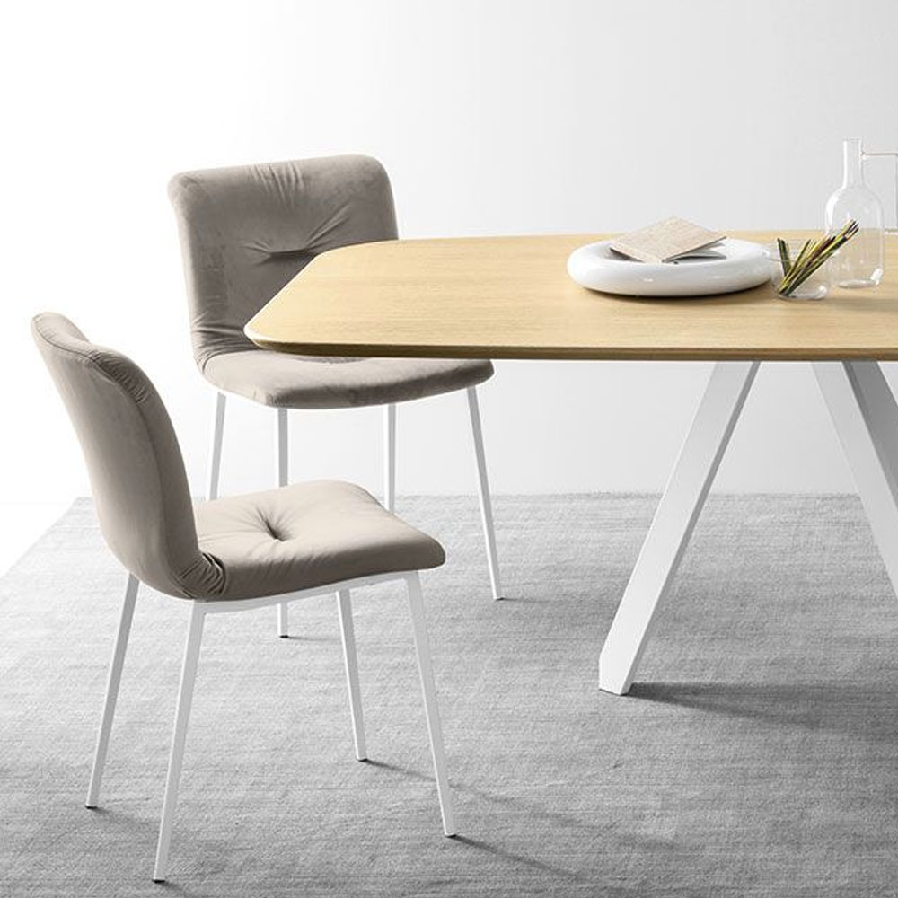 Calligaris Dining Chairs Calligaris Annie Soft Dining Chair