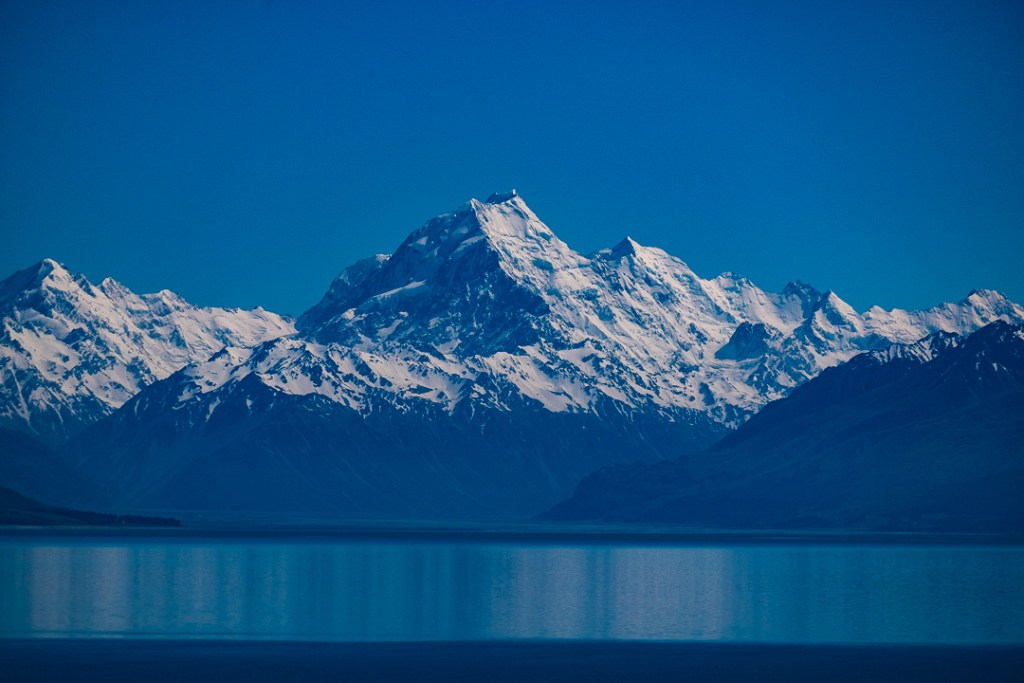 Fine Art Photography - Lake Pukaki and Mt Cook