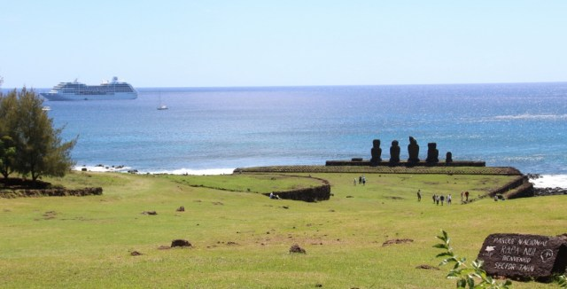 Pacific Princess visits Easter Island