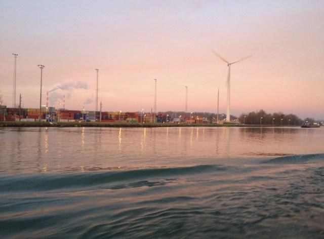 December Dawn on the Danube
