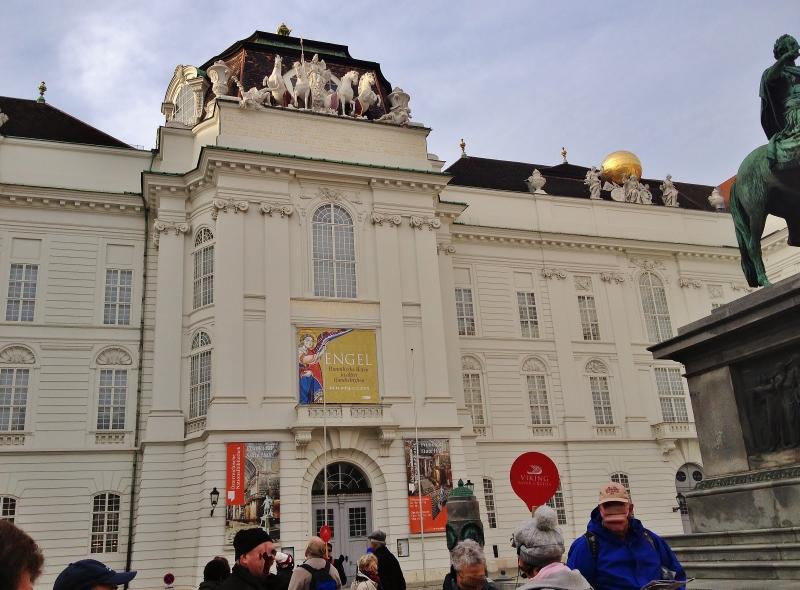 Vienna- Austria- Hofburg Palace