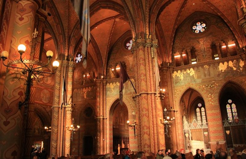 Inside St. Matthias Church
