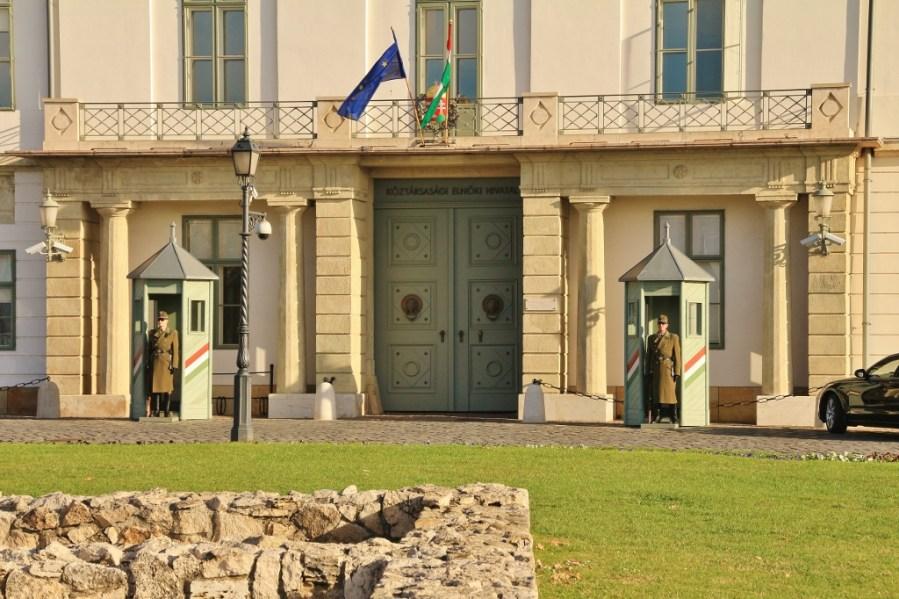 Sándor Palace the Presidential Palace