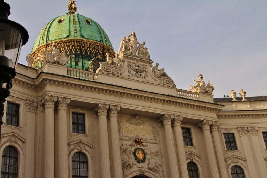 Hofburg Main entrance