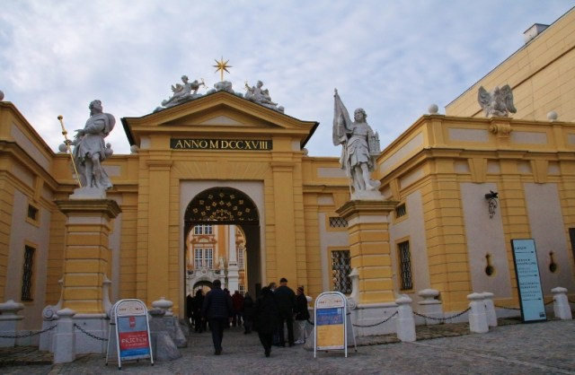 Melk Abbey Courtyard entrance