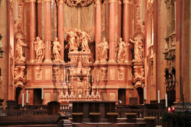 Melk Abbey Church alter