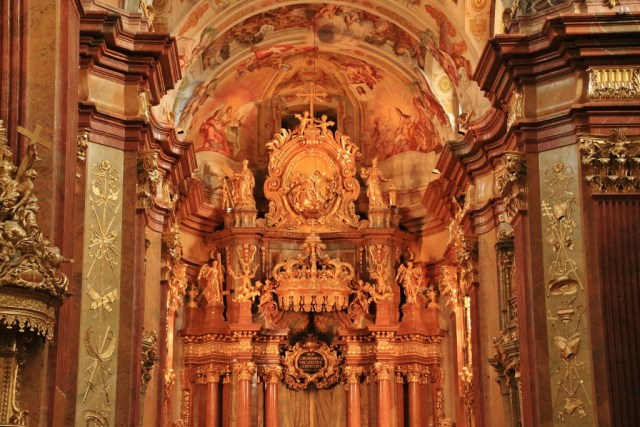 Melk Abbey Church above alter