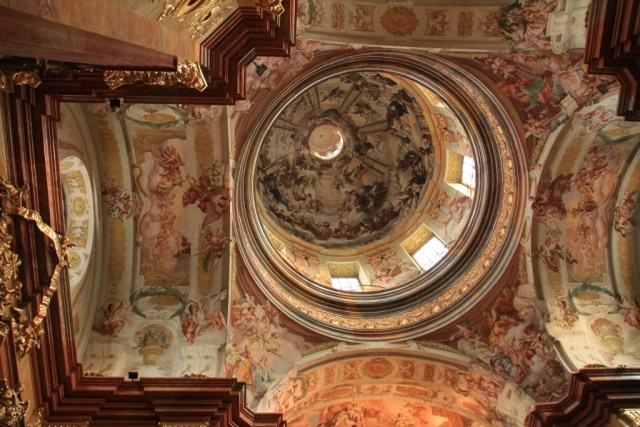 Melk Abbey Church dome