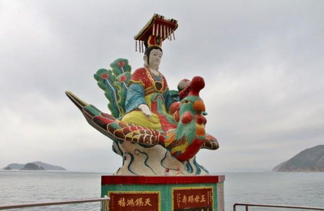 Xiwangmu the bird woman