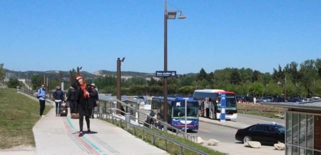 Gare d'Avignon TGV bus terminal