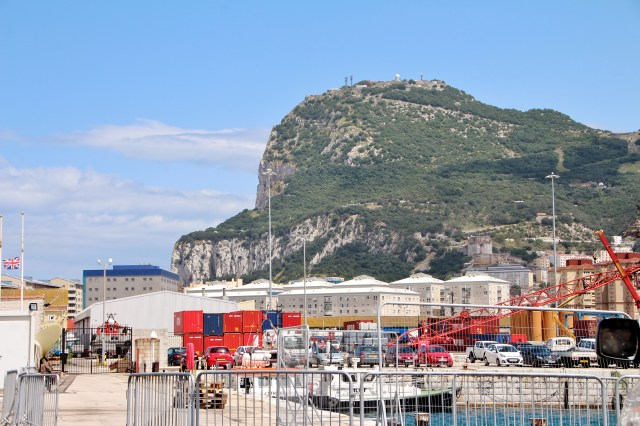 Gibraltar city scenes