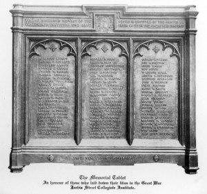 Jarvis' World War I Memorial
