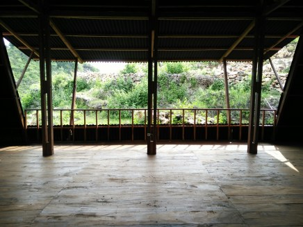 Balai Ramah Lingkungan di Baron Techno Park