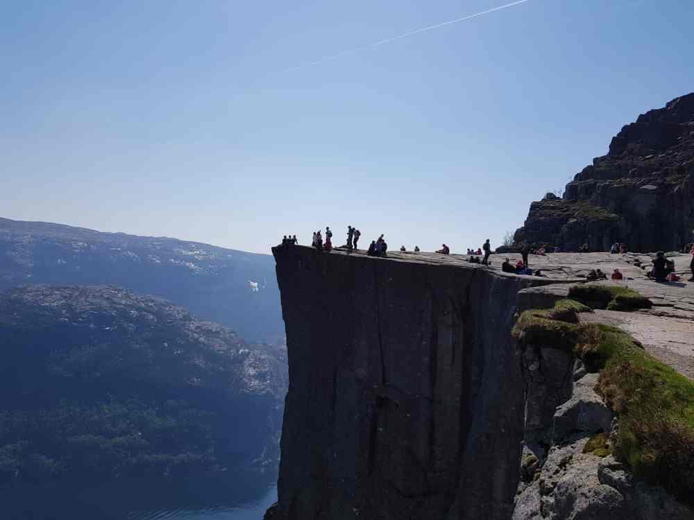 Wanderung Preikestolen Norwegen mit JAS-TOURS.DE