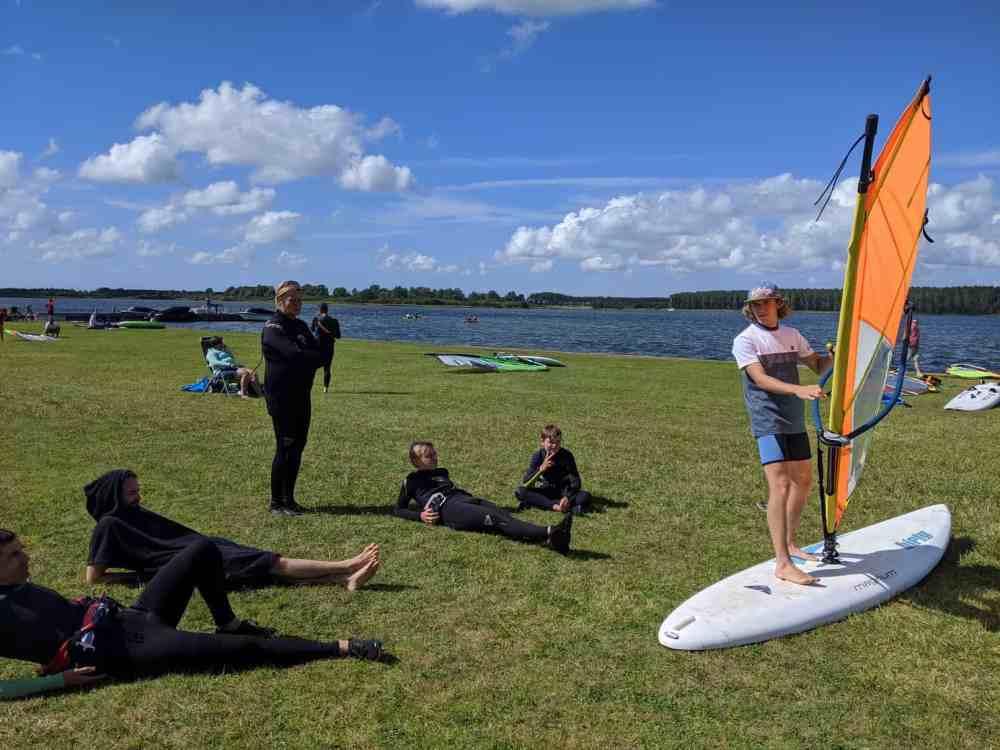Windsurfen Unterricht Holland Surfschule