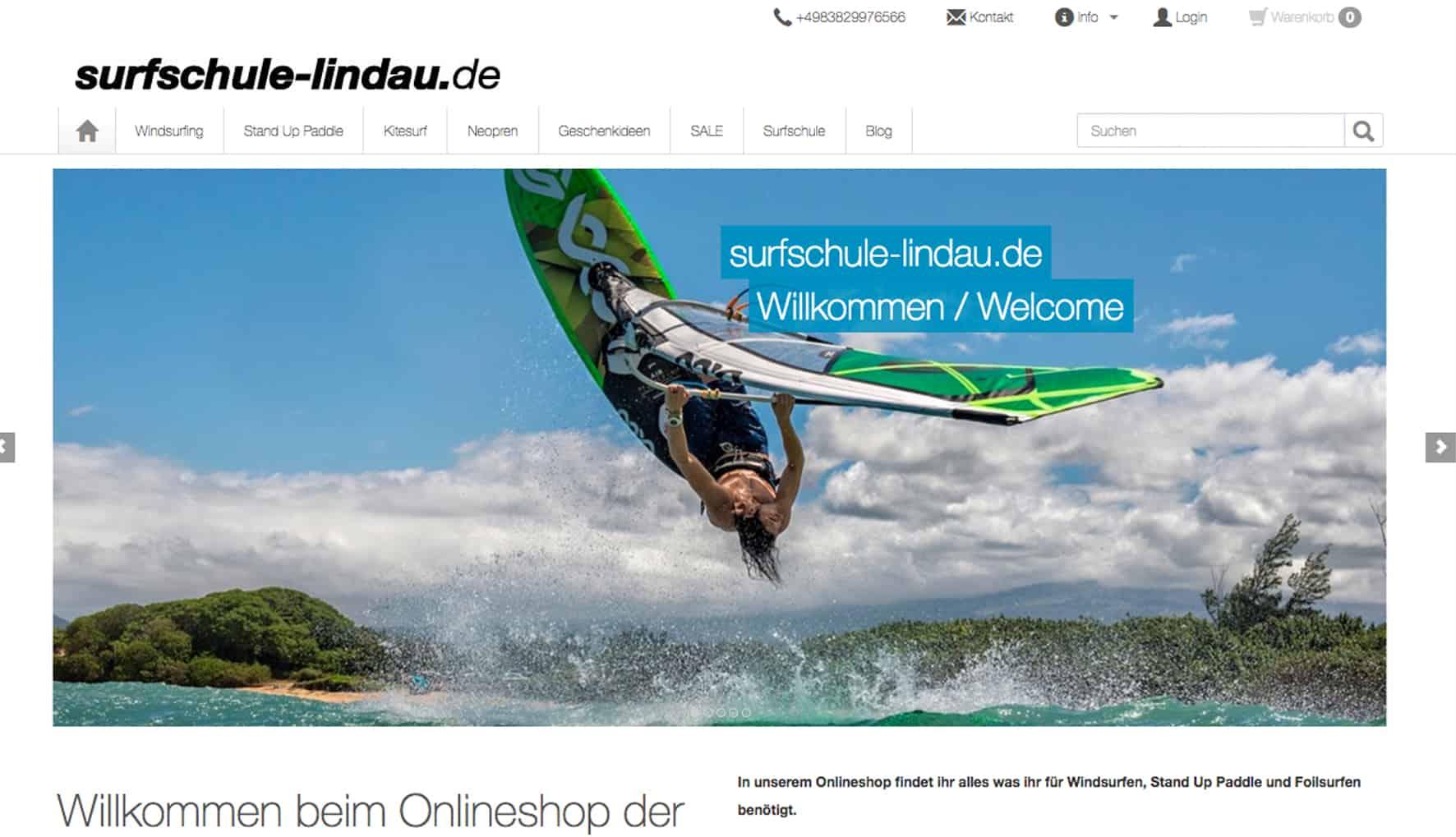 Surfshop Lindau