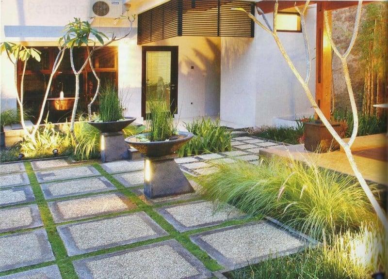 Memilih Batu Alam Untuk Desain Taman Minimalis  Jasa