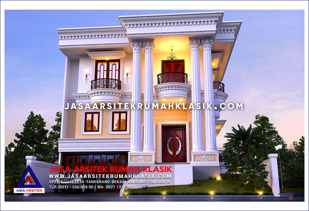 Jasa Arsitek Desain Rumah Klasik Hook Modern Di Surabaya