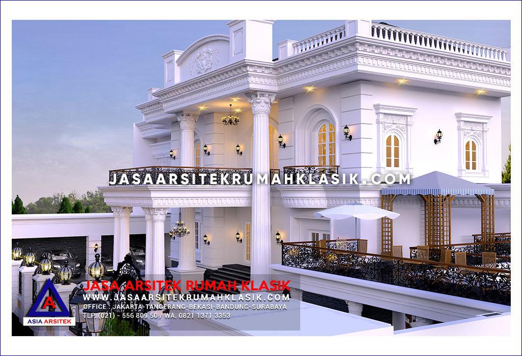 Jasa Arsitek Desain Rumah Klasik Mewah Di Surabaya