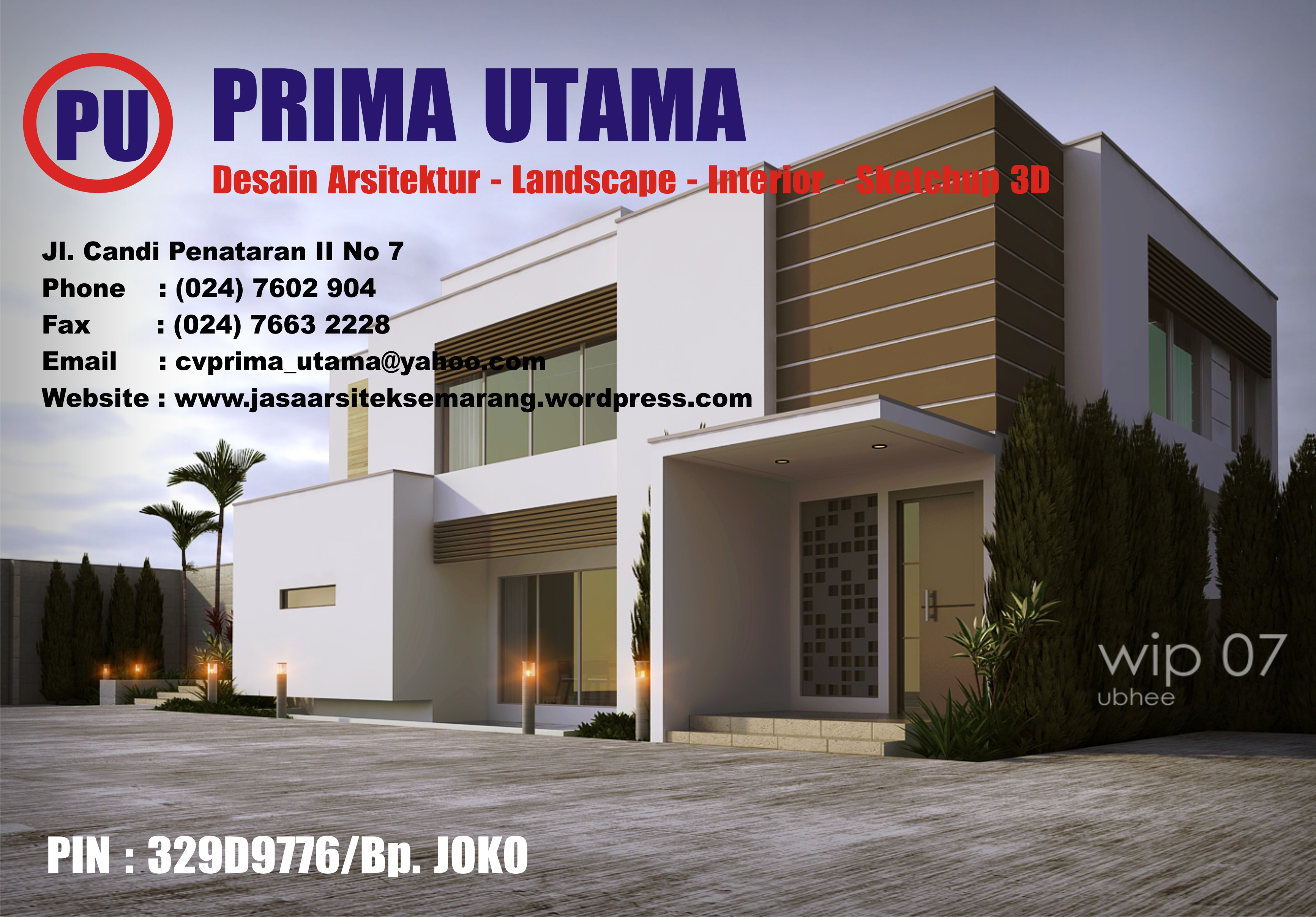 Jasa Desain Gambar Rumah 3D di Semarang Jawa Tengah  CV