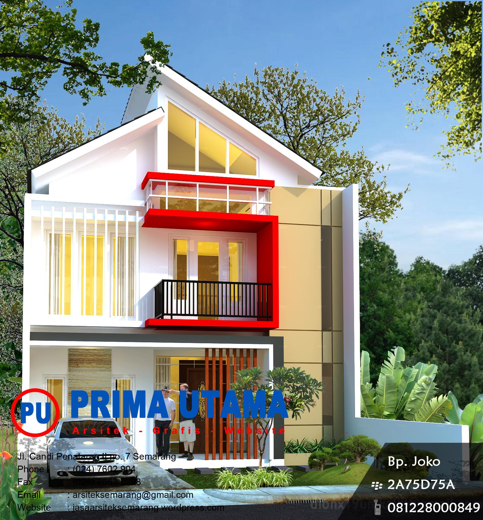 rumah hook 2 lantai  CV PRIMA UTAMA