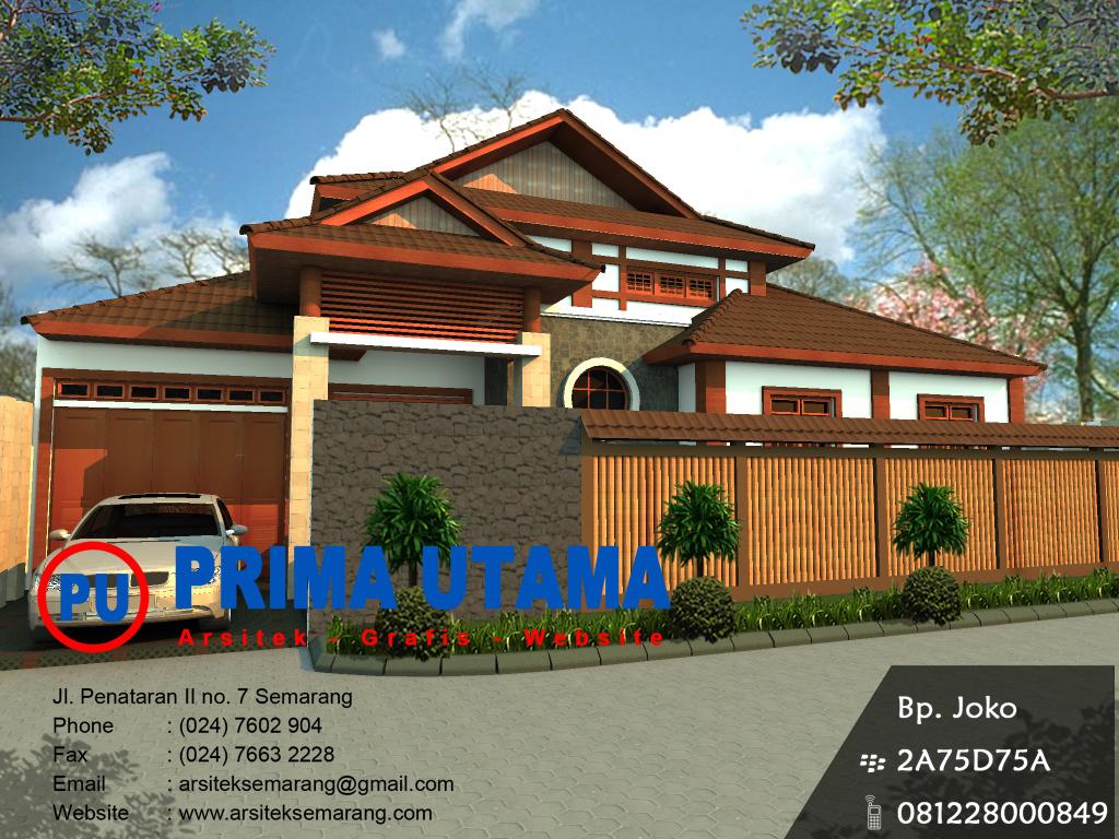 desain rumah tradisional jepang  CV PRIMA UTAMA
