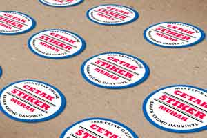 cetak stiker online