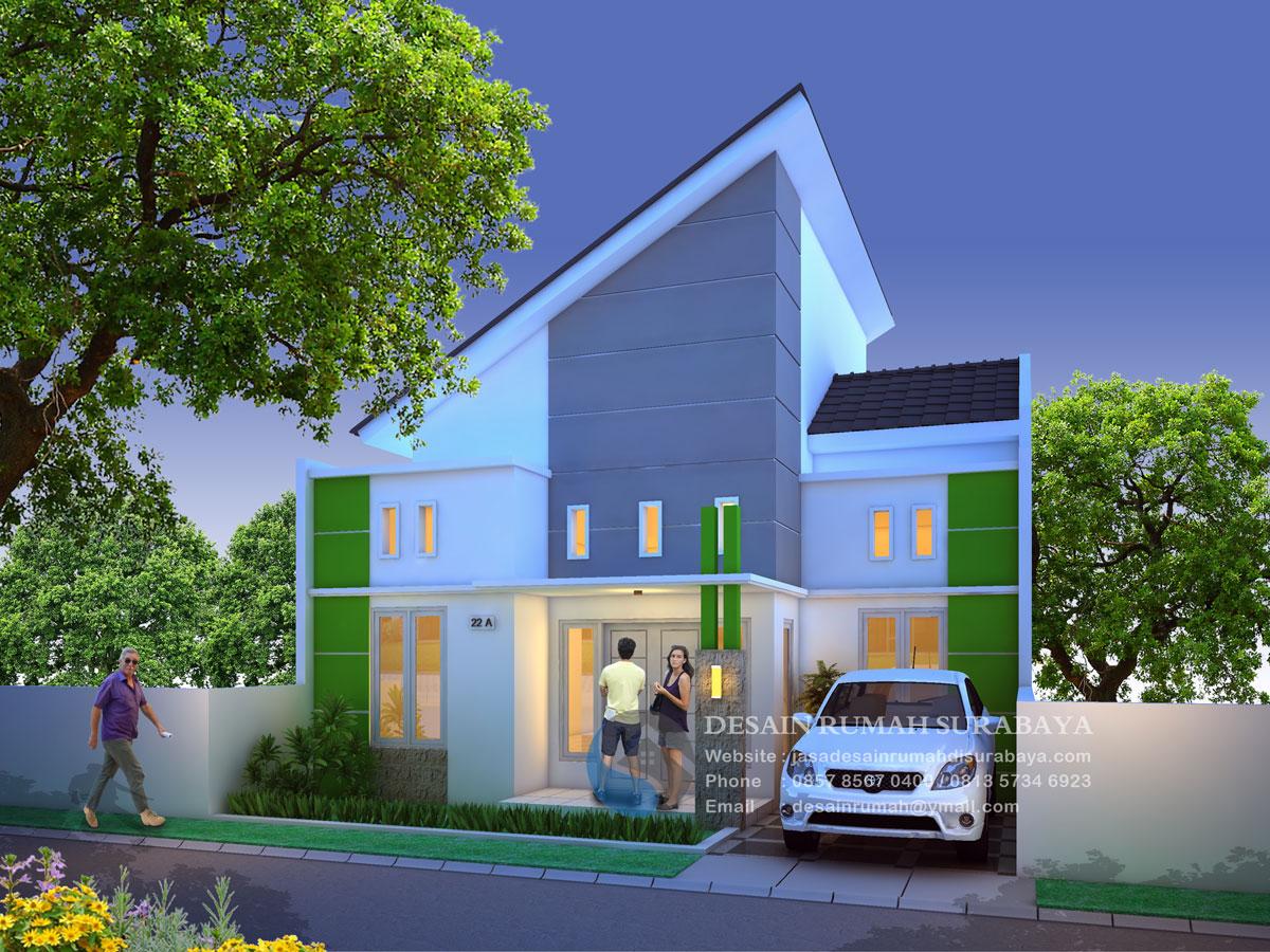 Desain Rumah Kos Bentuk L
