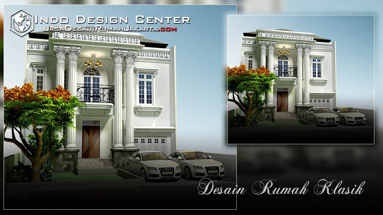 Desain Rumah Mewah Klasik 2 Lantai Jasa Desain Rumah Jakarta
