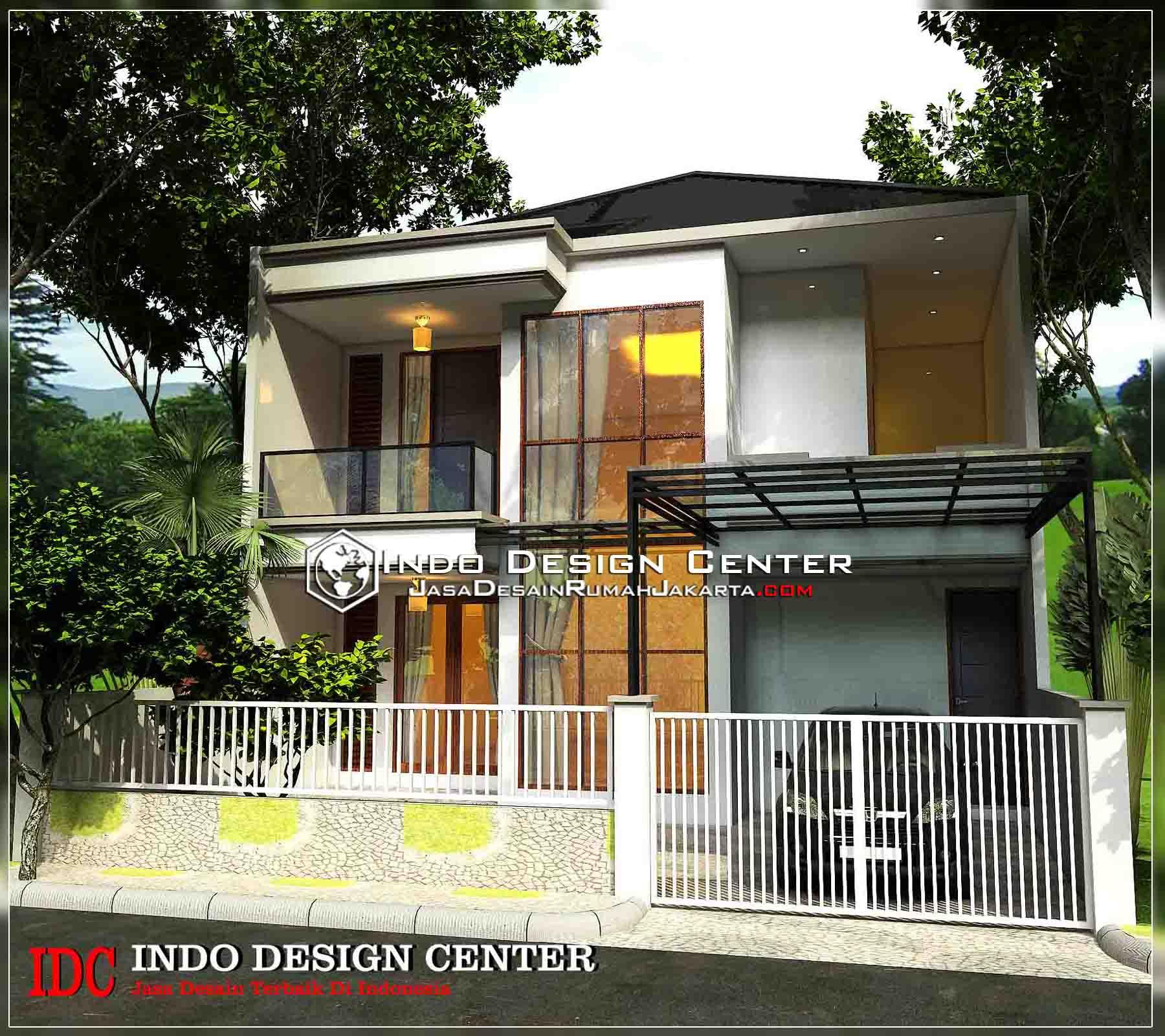 68 Desain  Rumah  Minimalis Modern 2  Lantai  Desain  Rumah