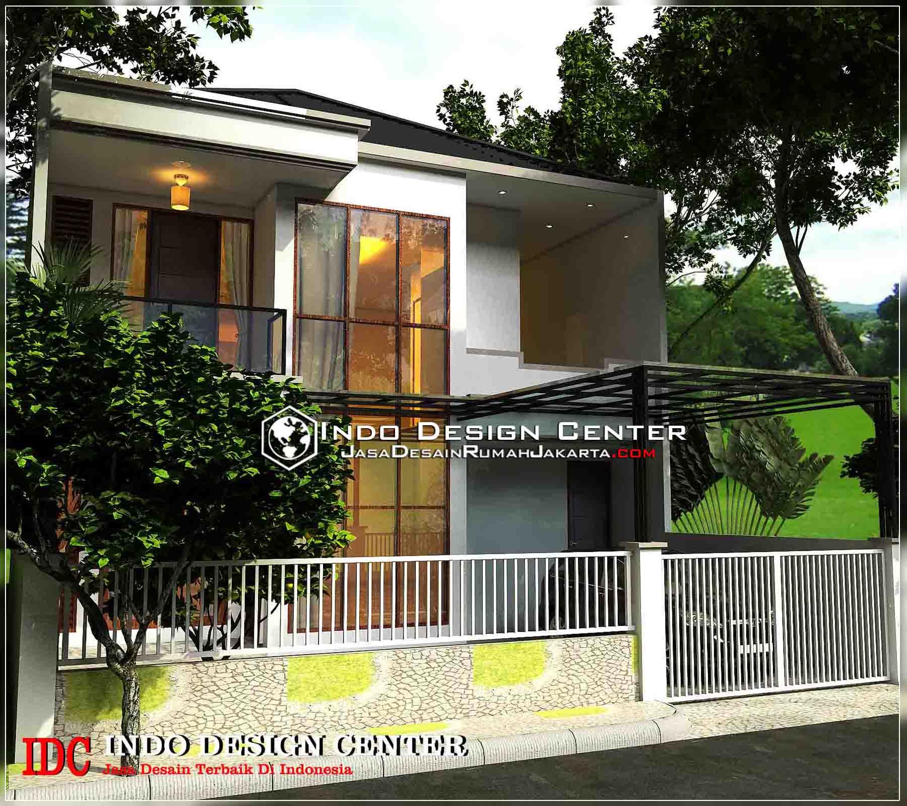 Desain Rumah Minimalis Modern 2 Lantai Jasa Desain Rumah Jakarta