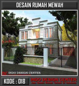 Desain Rumah Mewah Pak Johan