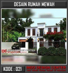 Desain Arsitek Rumah Mewah Pak Winarto
