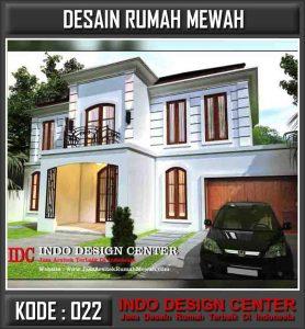 Desain Arsitek Rumah Mewah Ibu Dini