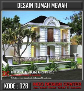 Arsitek Desain Rumah Mewah Pak Albert