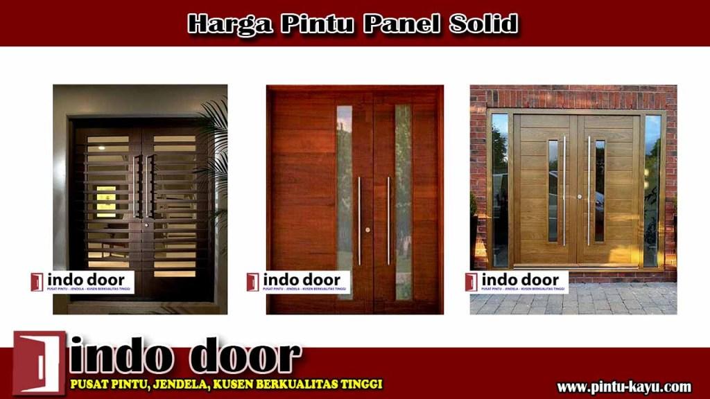 Harga Pintu Panel Solid