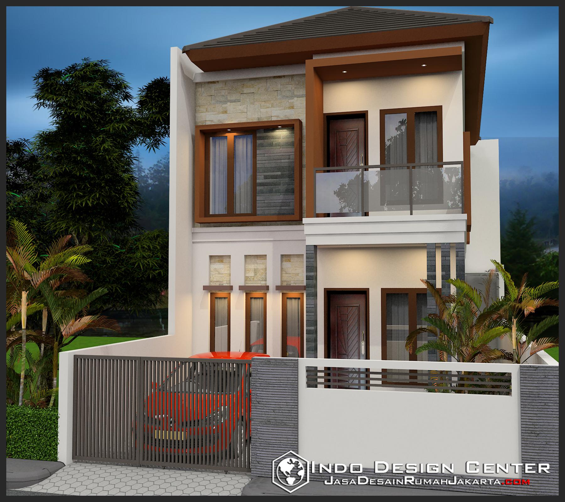 Gambar Rumah Minimalis Ibu Nina Jasa Desain Rumah Jakarta