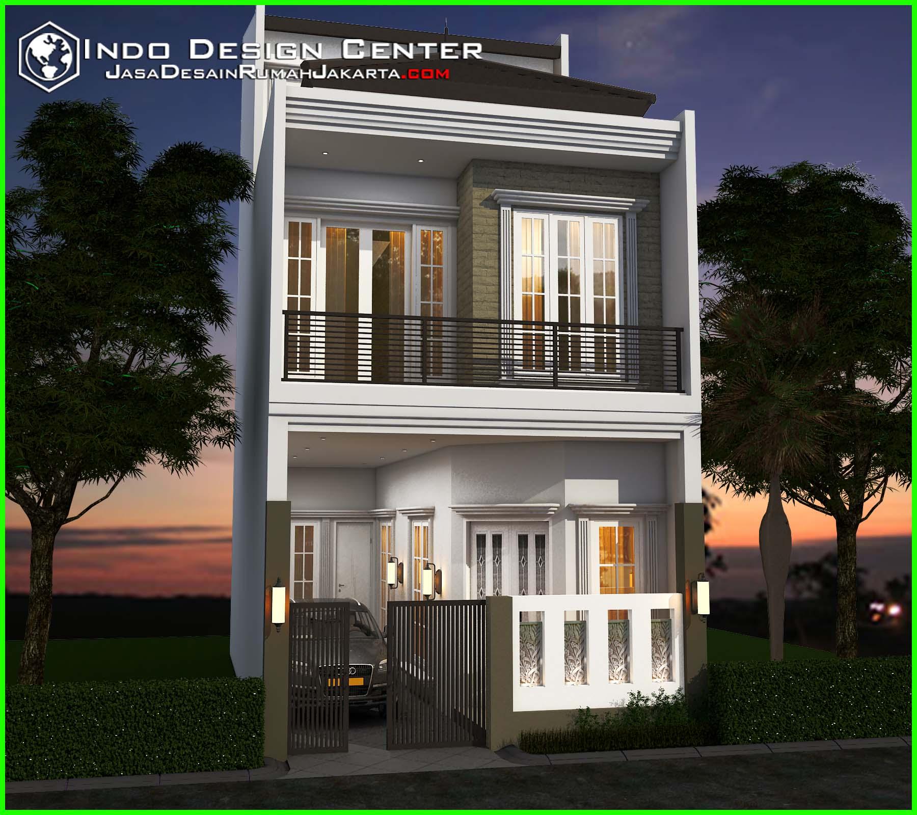 Pola Desain Arsitektur: Gambar Rumah Tingkat Minimalis, Jasa Desain Rumah Jakarta