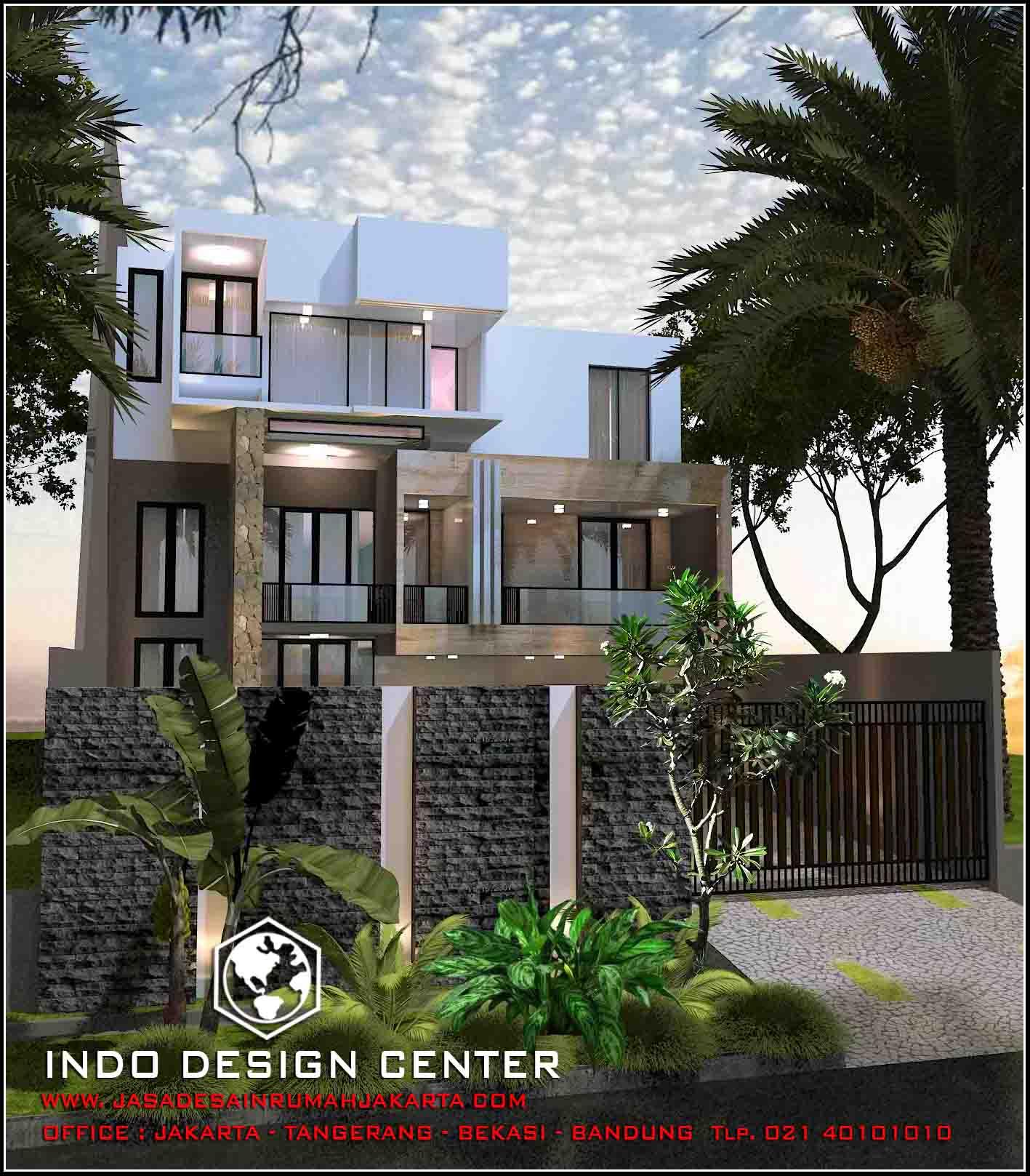 Jasa desain rumah minimalis bekasi rumah 408 for Arsitek di jakarta