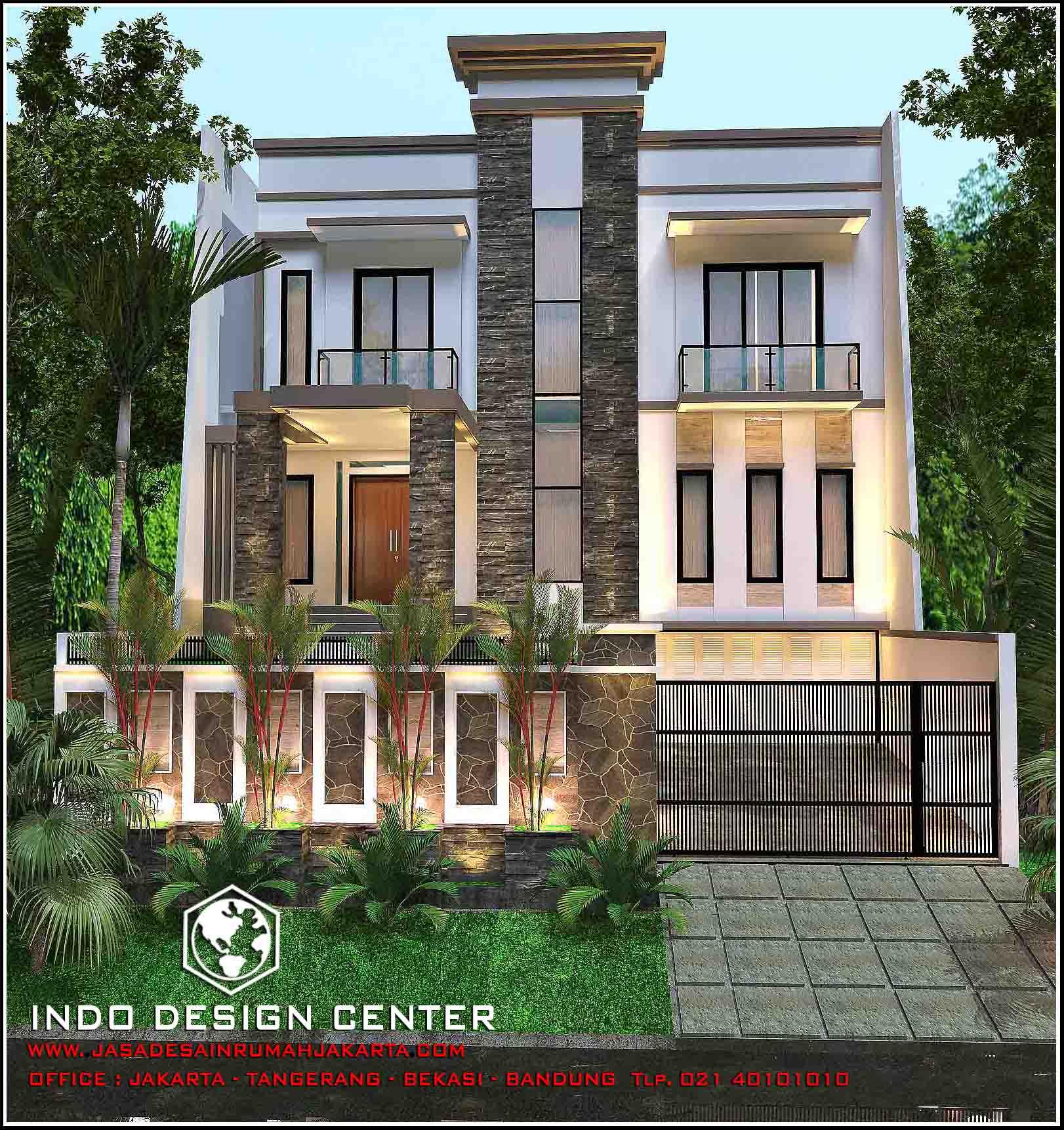 Rumah minimalis 2 lantai arsip jasa desain rumah jakarta for Arsitek di jakarta