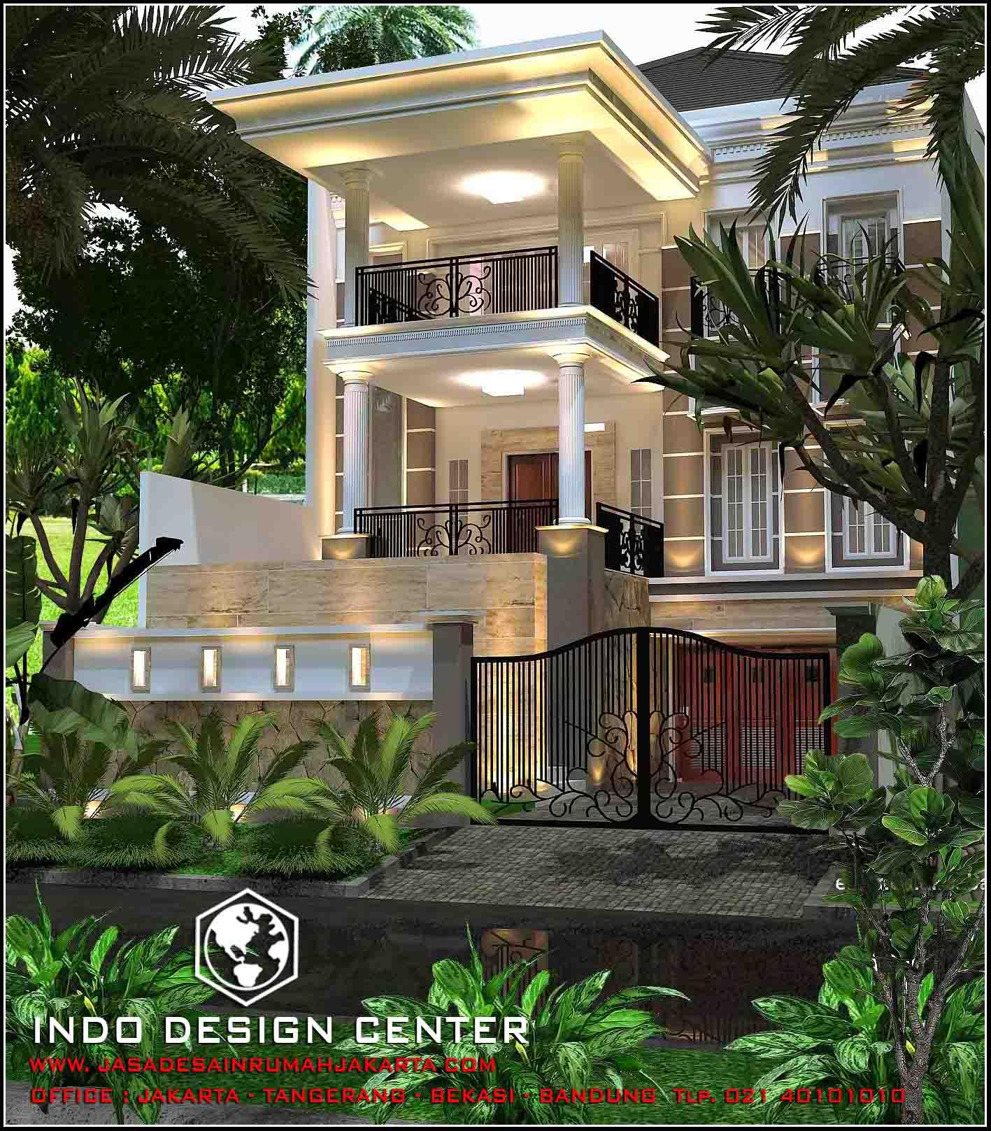 Jasa arsitek rumah di jakarta desain rumah bapak mulyanto for Arsitek di jakarta