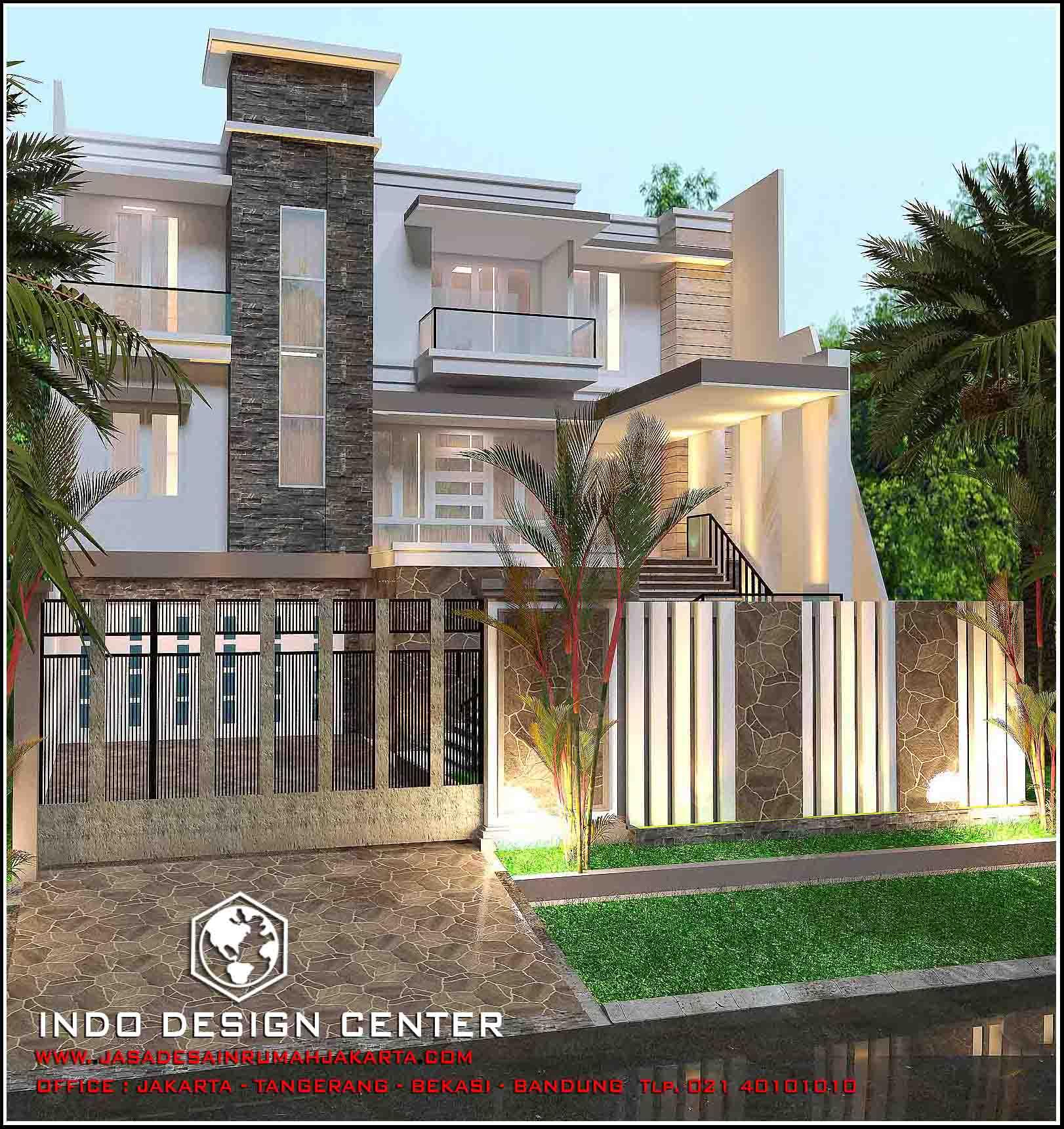 Jasa Arsitek Rumah Di Jakarta Desain Rumah Bapak Riyanto